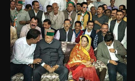 Virbhadra, Nominated, Arki Seat, Election