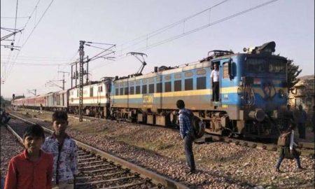 Crashing, Cow, Rajdhani Express, Bharatpur, Rajasthan