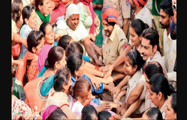 Anganwadi Workers, Protest, Police, Punjab