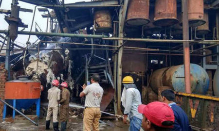 Oil Mill Blast, Worker, Died, Haryana