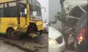 Road Accident, Punjab, Fog, Died, Injured