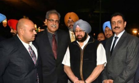 Punjab Police, Honored, Captain Amirendra Singh, CM