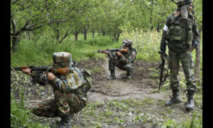 Wncounter, Terrorists, Indian Army