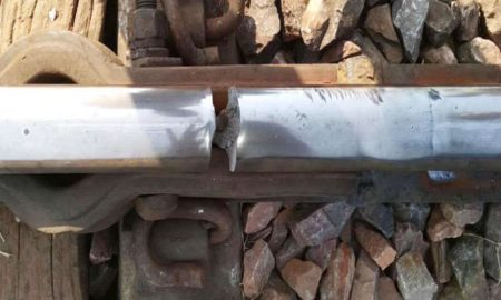 Rail, Traffic Affected, Fracture, Rajasthan