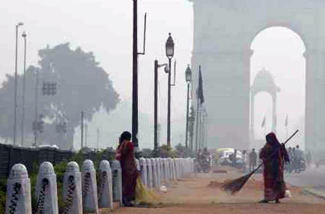 दिल्ली में बारिश से एयर क्वालिटी