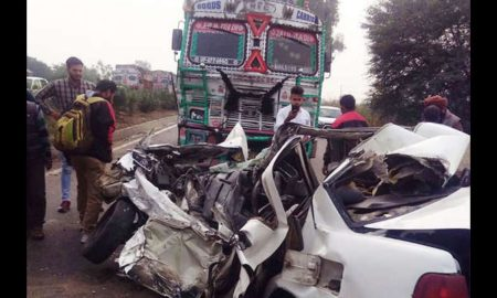 Car, Trola, Road Accident, Couple, Die