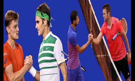 Federer, Goffin, Dimitrov, Sok, Competition, Sports