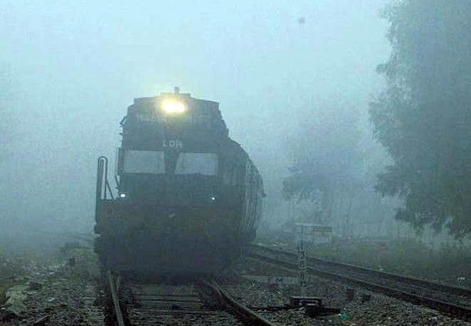 Smog, Trains, Depart, Trains, Canceled, Punjab