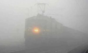 Trains, Late, Delhi, India, Fog