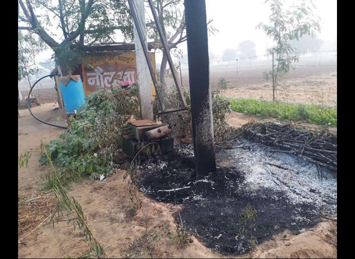 Transformer, Blast, Kotputli, Farmer, Death, Villagers, Protest