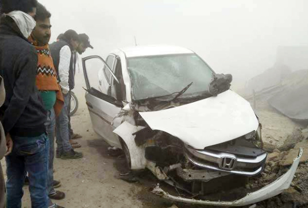 Road Accident, Died, Fog, Punjab
