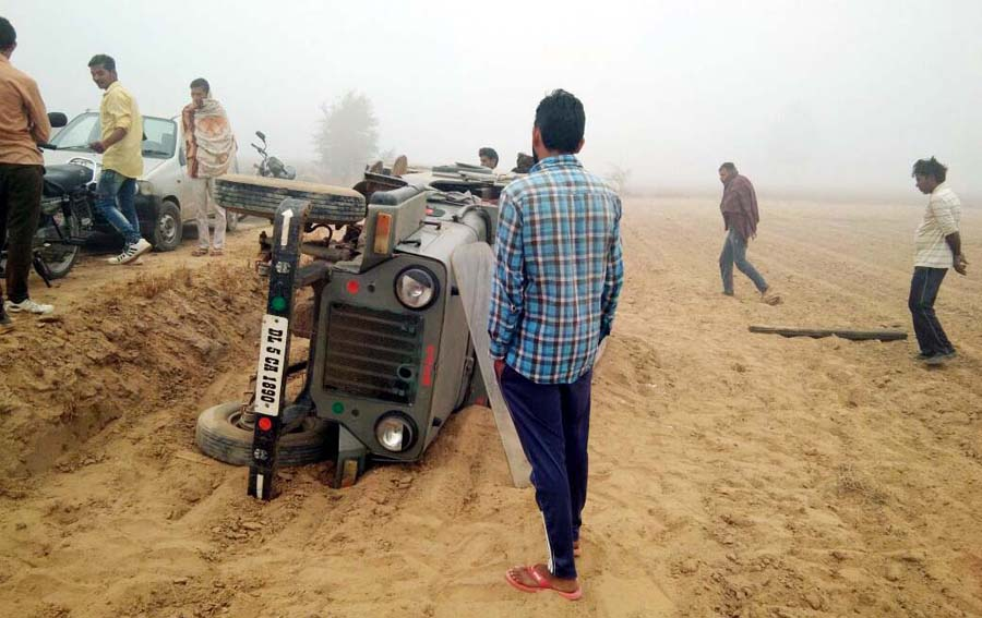 Students,Injured, Road Accident, Rajasthan