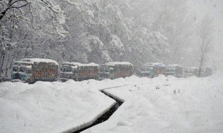 Sadhna Top, Phirkiyan, Snowfall