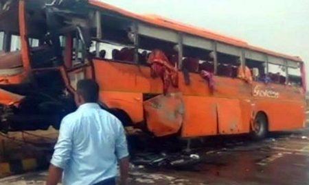 Killed, Bus Accident, Yamuna Expressway