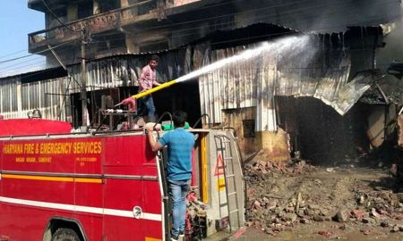 Fire, Paint Factory, Workers, Burned Alive