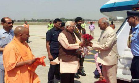President Ramnath Kovind, Varanasi, Governor, CMYogi Adityanath