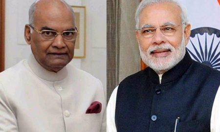 Ramnath Kovind, Narendra Modi, Congratulates, Ugadi Gudi PadwaNavratri