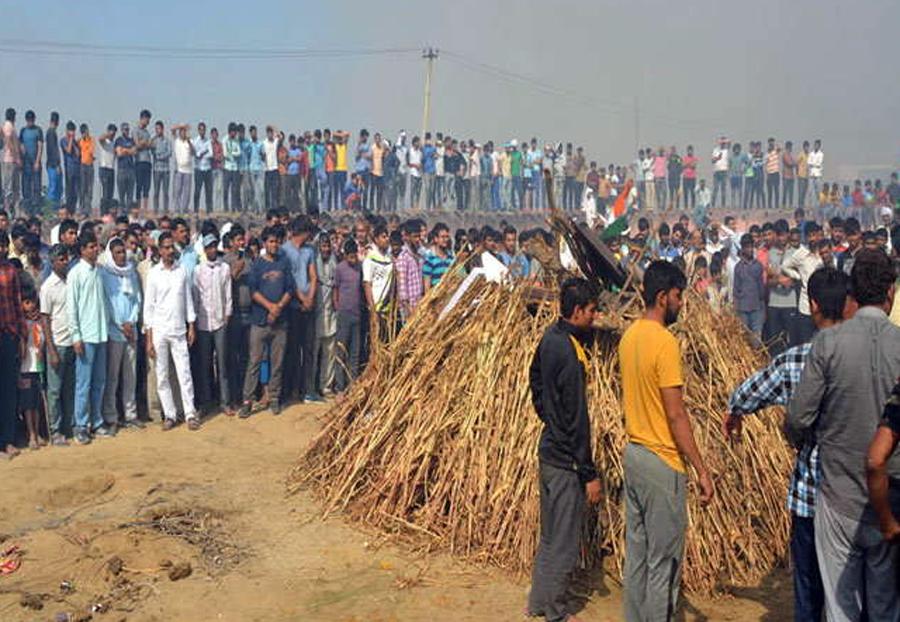 Sainik Kamal, Funeral, Bahadurgarh, Haryana