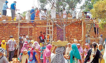 Sangrur Block, Sherpura, Thirteen Needy Family, Get Home, Dera Sacha Sauda
