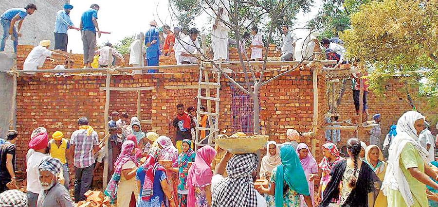 Sangrur Block, Sherpura, Thirteen Needy Family, Get Home, Dera Sacha Sauda