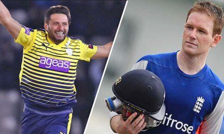 Morgan Lost, World XI, Afridi Captain, Sports