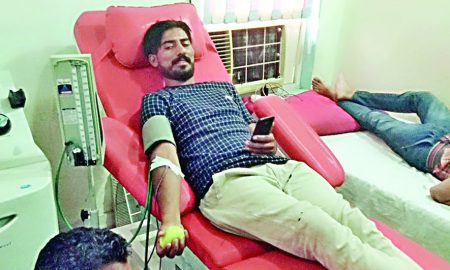 Welfare Works, Blood Donate, Dera Follower, Amerjeet
