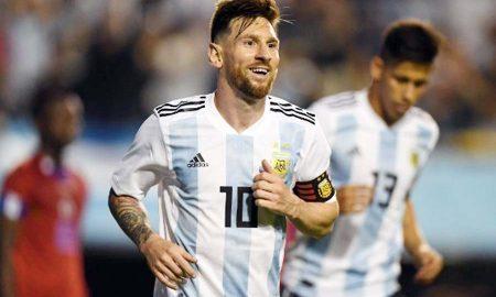 Messi, Hat-trick, Argentina, Won 4-0, Sports