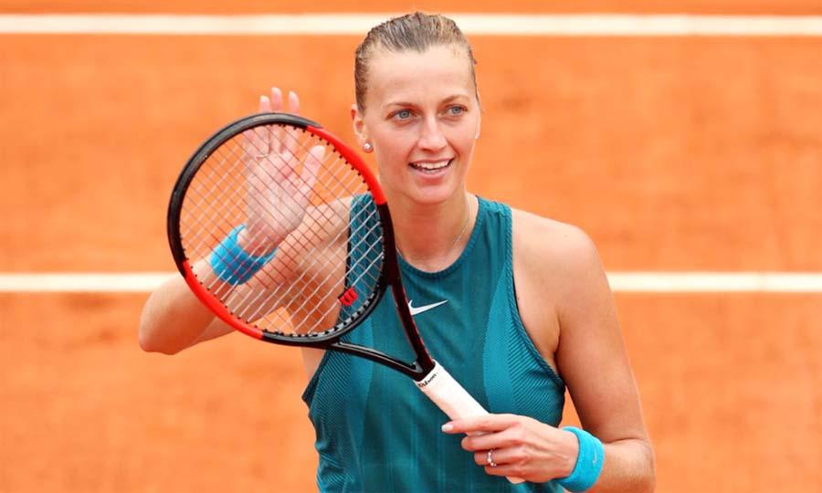 french open petra kvitova, caroline wozniacki, third round
