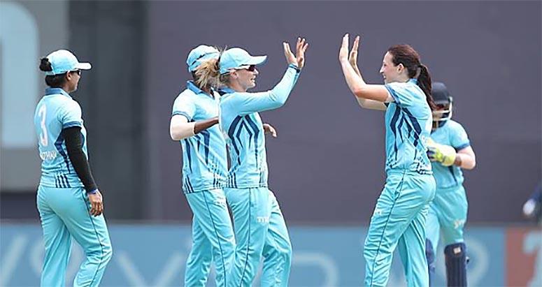 Woman IPL, Game, Two wicket, down, supernova, sports