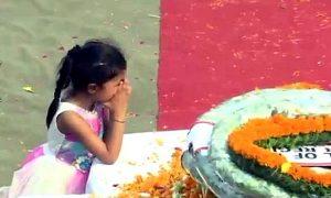 Kashmir, Encounter, Girl, tribute, Brave, Father