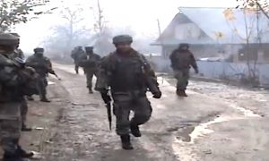 Attempt to Attack CRPF camp