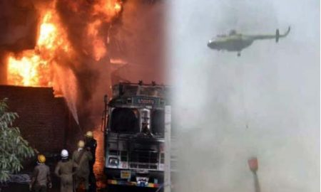 Fire, Rubber, Warehouse, Malviya, Nagar