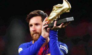 Messi, Golden, Shoe, Footboaler