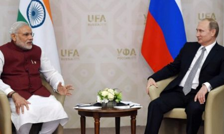 Narendra Modi, Arrives, Visit, Russia