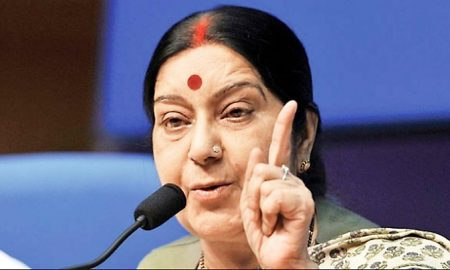 Terror, Not Possible, Together, Sushma, Foreign Minister, India