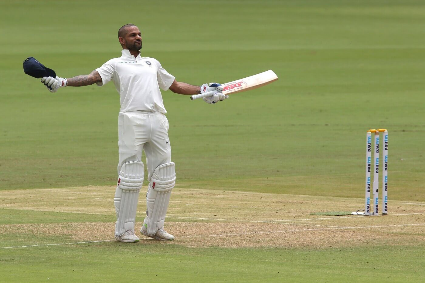 First Indian, Cricket, first day, Shikhar Dhawan, Sports
