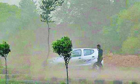 Dusty, Storm, Hits, North, India