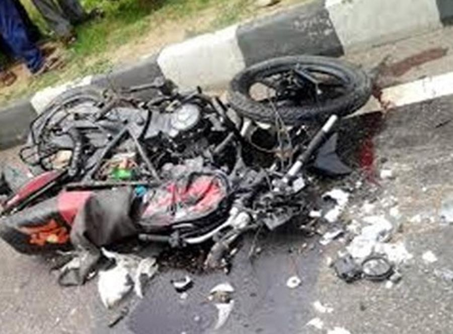 Killed, Car, Motorcycle, Clash, Road Accident