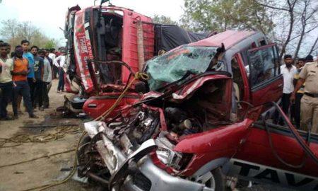 Road Accident, Yavatmal, Maharashtra, Death