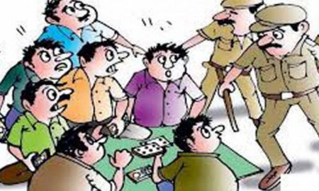 Arrested, Gambling, Police
