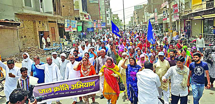 Launch, Water Revolution Campaign, Ganganagar