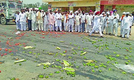 Protest, Farmers, Govt