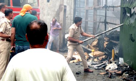 Haryana Leather Chemical Factory, Fire