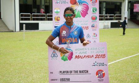 Woman, Asia-Cup, India, Thailand, 66 runs, Sports