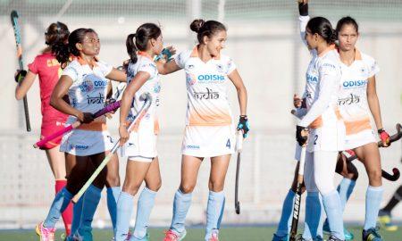 Indian, Women, Hockey, Spain, Sports