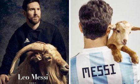 Messi, Goat, Photoshoot, Magzine, Sports