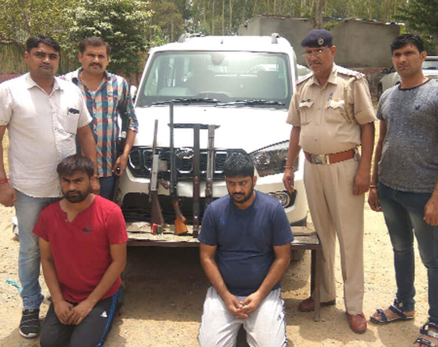 Anand murder case: Arms, Car, Accused, Production Warrant