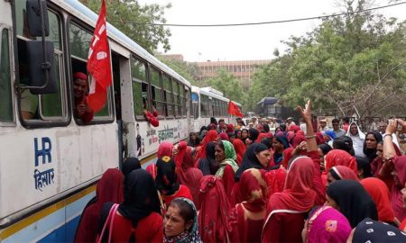 Asha Workers, Launched, Jail Bharo Aandolan