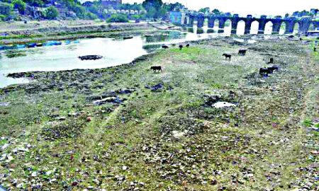 Government, Careless, Drying, Rivers, Bhupendra
