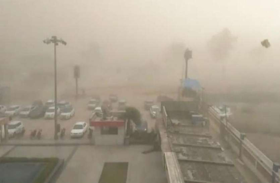 Due, Hailstorm, Haryana,